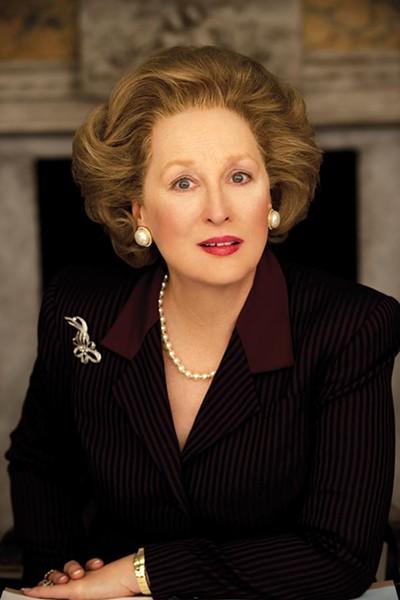 """We must"": Meryl Streep as Margaret Thatcher"