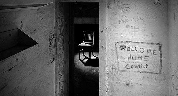 """""""Welcome Home Convict,"""" by Mark Perrott."""