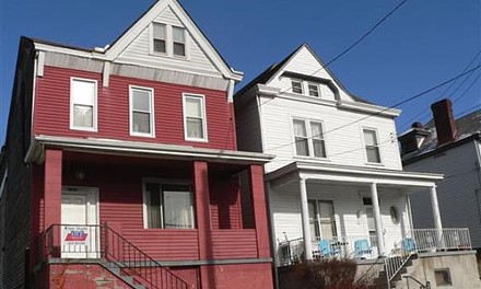 What you see: The photo of the Allentown house Tami Twidwell says she had e-mailed to her.