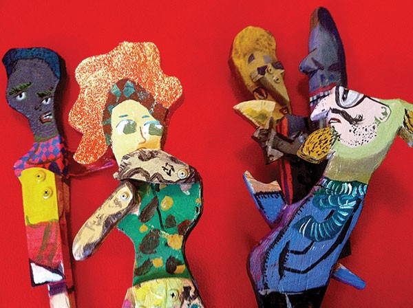 What's in store: Wooden puppets by Tom Sarver