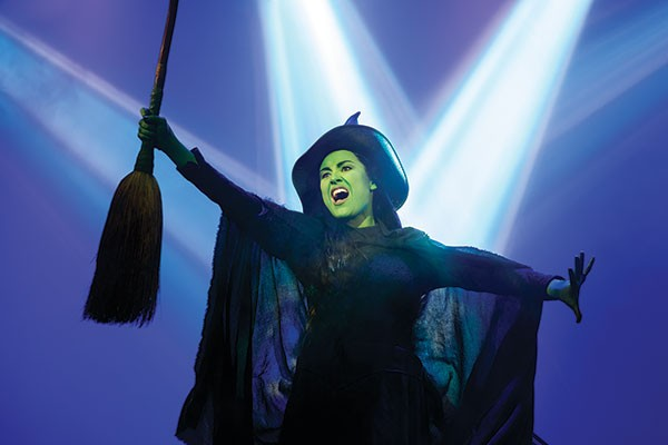 Which witch: Elphaba (Alison Luff), in Wicked
