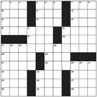 Winter Guide Crossword