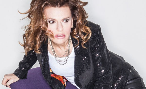 Without you, she's ... still Sandra Bernhard
