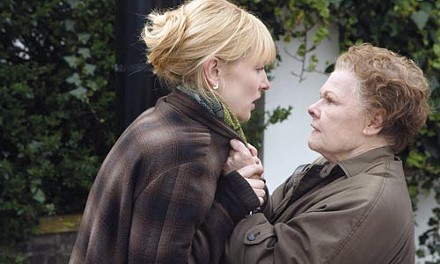 Woman to woman: Cate Blanchett and Judi Dench