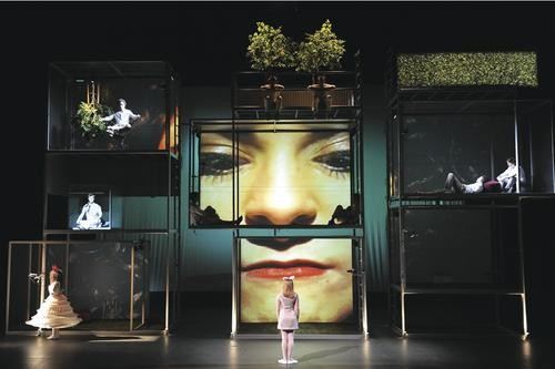 Wonderland: Carnegie Mellon School of Drama's The Alice Project - PHOTO COURTESY OF LOUIS STEIN