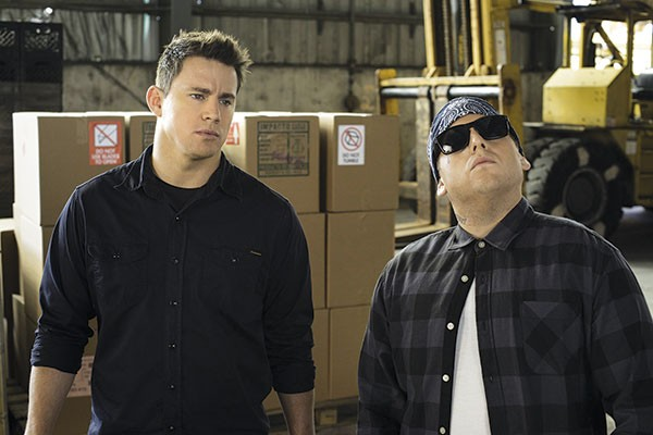 Work hard, play hard: Channing Tatum and Jonah Hill in 22 Jump Street