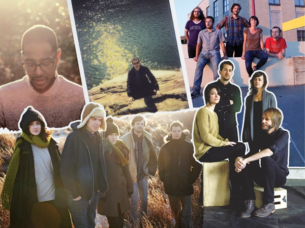 Year's best: Clockwise from top left, Oddisee, Majeure (photo courtesy of Joseph Aloysius Turnbull III), The Harlan Twins (photo by Heather Mull), Sharon Van Etten (photo courtesy of Dusdin Condren), Dirty Projectors (photo courtesy of Jason Frank Rothenberg)