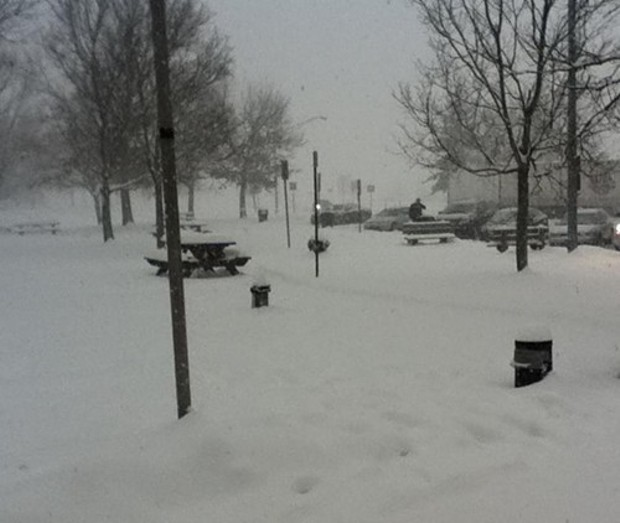 The snow in the city essay