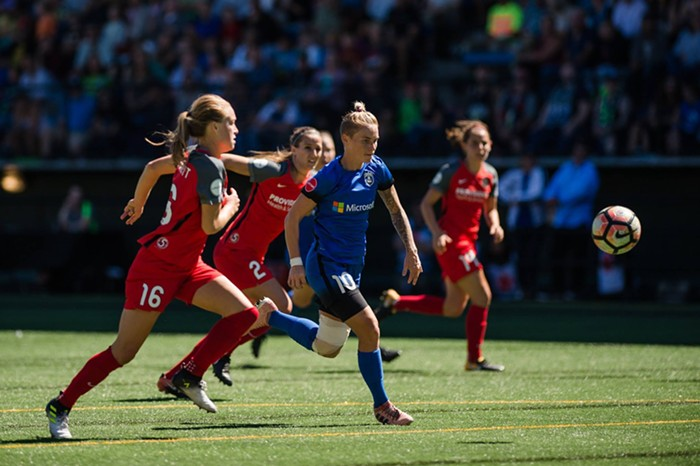 Jess Fishlock is increasingly difficult to keep track of. One of the toughest women in the league right now. IN MY OPINION.