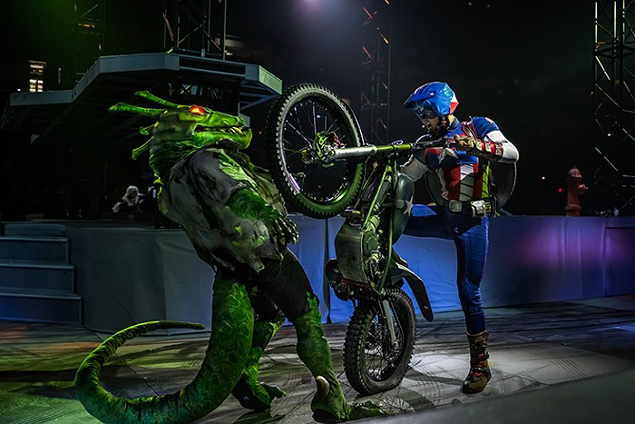 Eat a dirt bike, lizard!