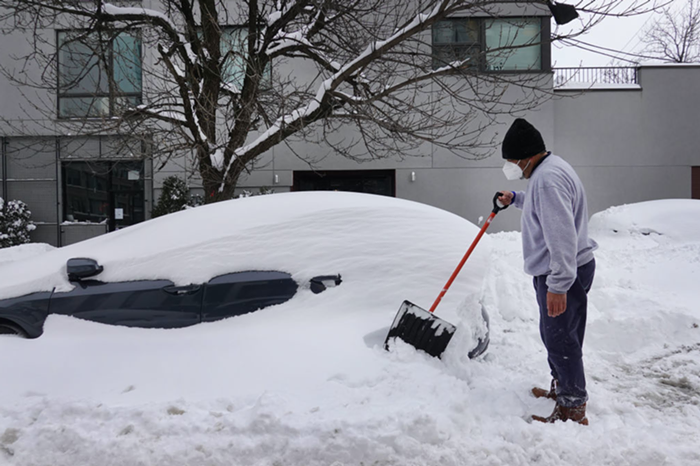 Texans dig out from underneath a historic snow storm, with no end to power outages in sight.