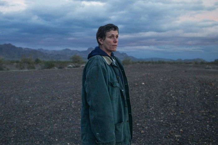 If you love Frances McDormand and the landscape of the American West, catch Nomadland on Hulu or in-person at Living Room Theatres starting Friday.