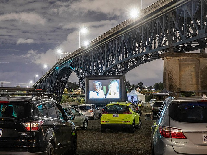 The drive-in prevails this month with IRL screenings of hits like Minari and The Iron Giant at the Cinema Unbound portion of the otherwise virtual Portland International Film Festival.