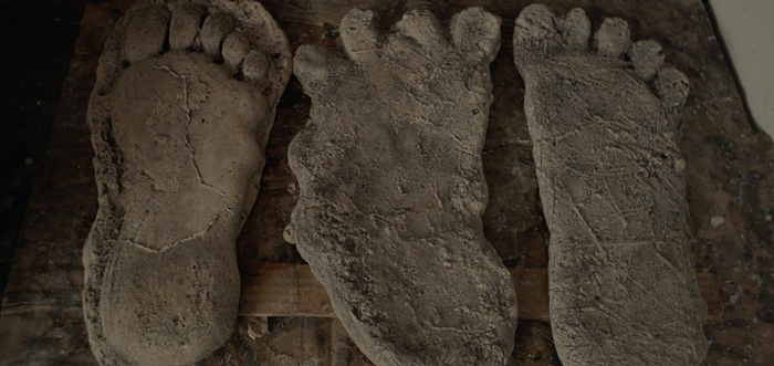 Sasquatch: Admittedly, those are some big feet.