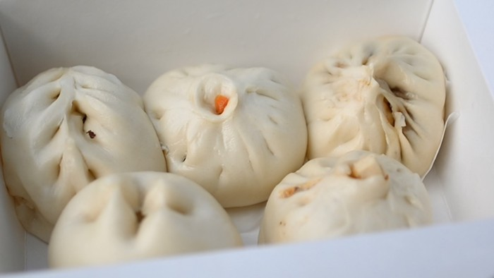A variety assortment of bao from Bao Bao.
