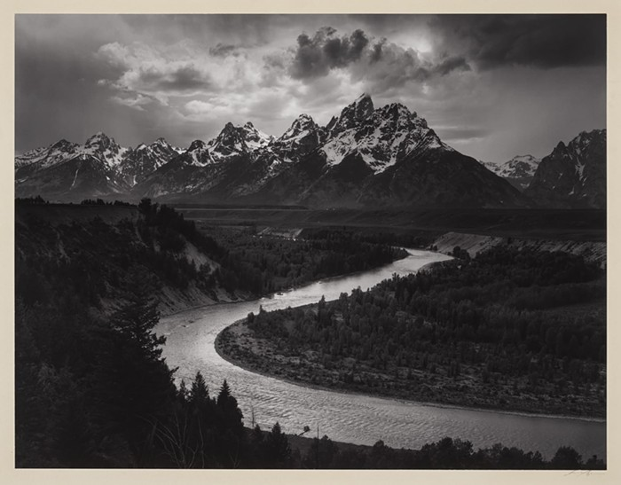 The Tetons and Snake River