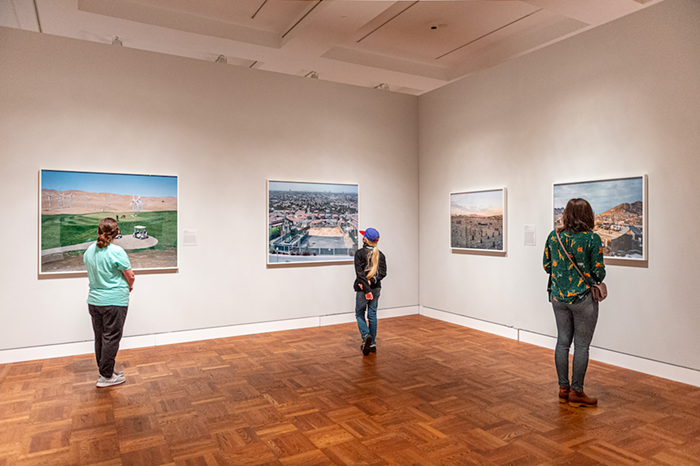 Four modern works examining landscapes of the American west from different perspectives.