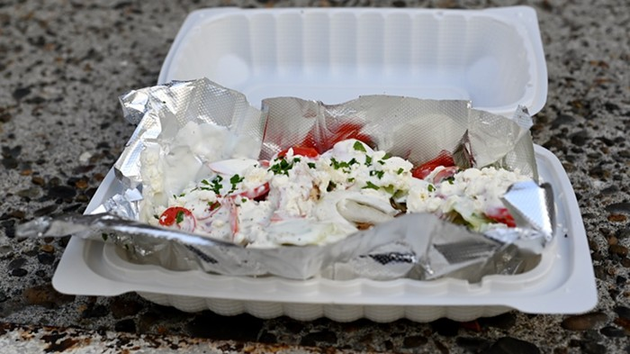Meat Yacht from Angelina's Greek Gyros