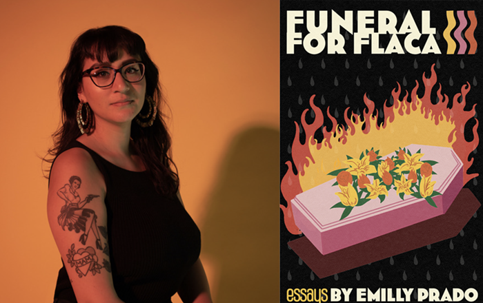 Funeral For Flaca: Essays by Emilly Prado is out July 1 from Future Tense Books.
