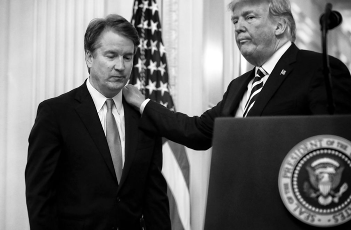 During Kavanaughs pre-Supreme Court investigation, the FBI handed 4,500 tips over to Trumps White House.