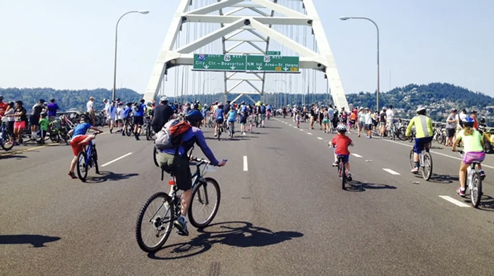 The 25th annual Providence Bridge Pedal will offer cyclists and walkers the opportunity to ride and walk across Portlands many bridges.