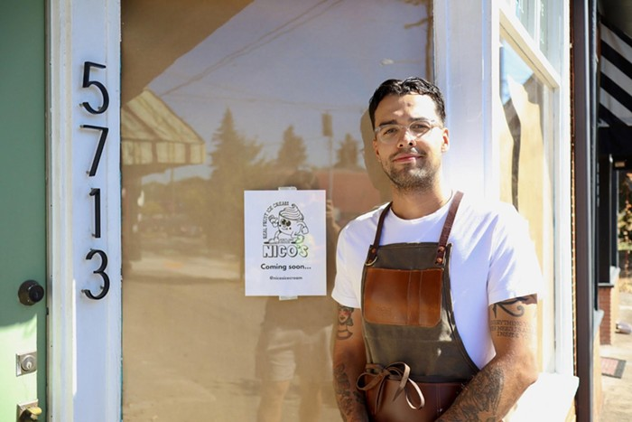 Nicos cart has closed for the season, but the brick and mortar is projected to open in seven to eight weeks.