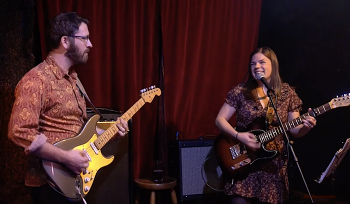 Julia Rosen and Josh Holmes perform in Portland-based band No One of Consequence.