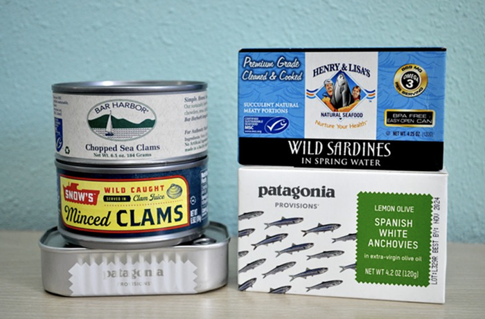 A plus to tinned fish is that the packaging is often adorable.