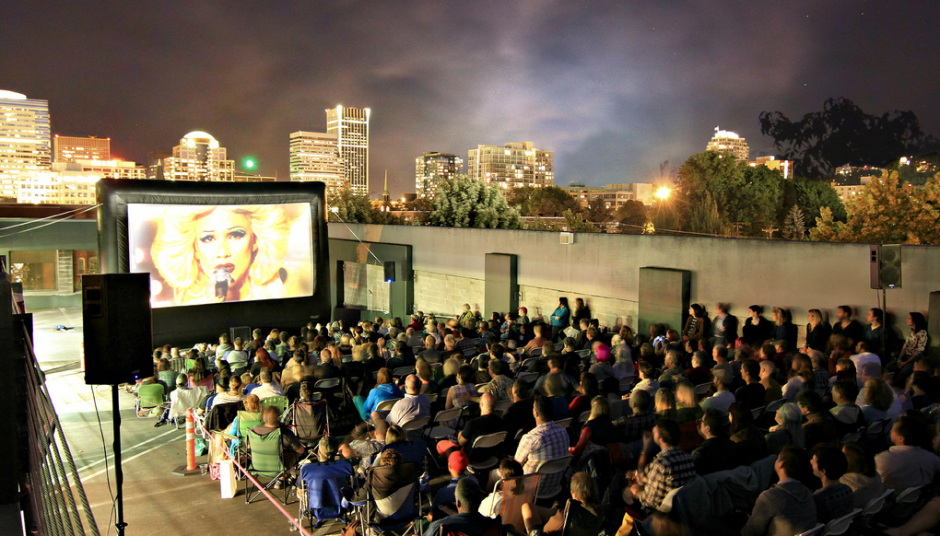 Top Down: Rooftop Cinema