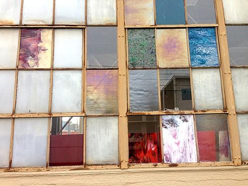 Pretty windows at North Portlands Uroboros Glass.