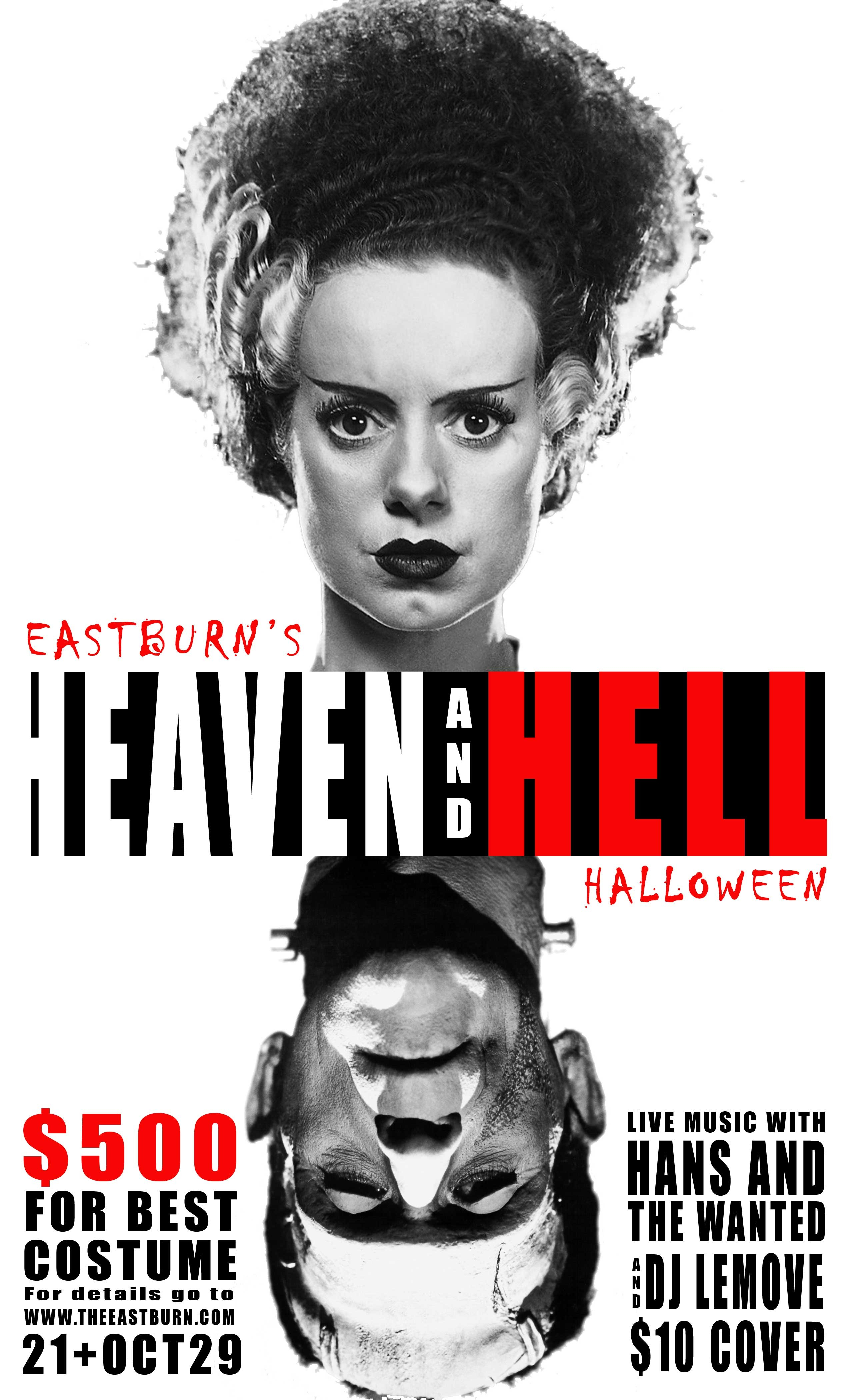 Heaven and Hell Party at EastBurn in Portland, OR on Sat., Oct. 29 ...