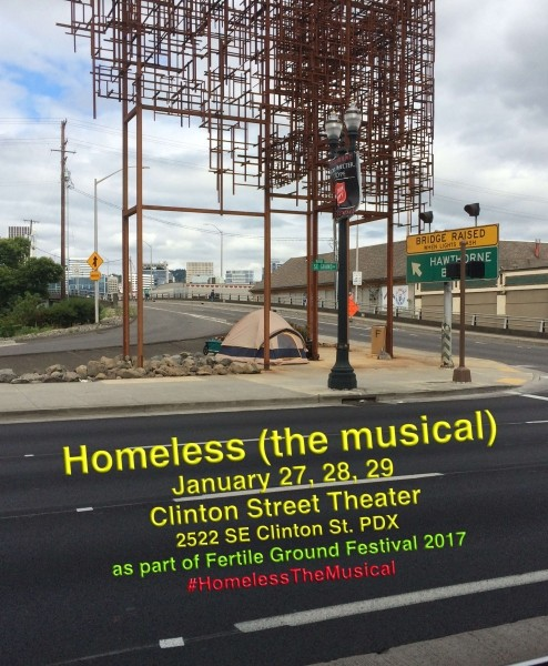 Homeless (the Musical) At Clinton Street Theater In