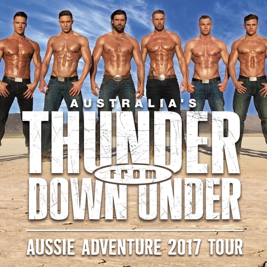 Australias Thunder From Down Under At Roseland In Portland Or On