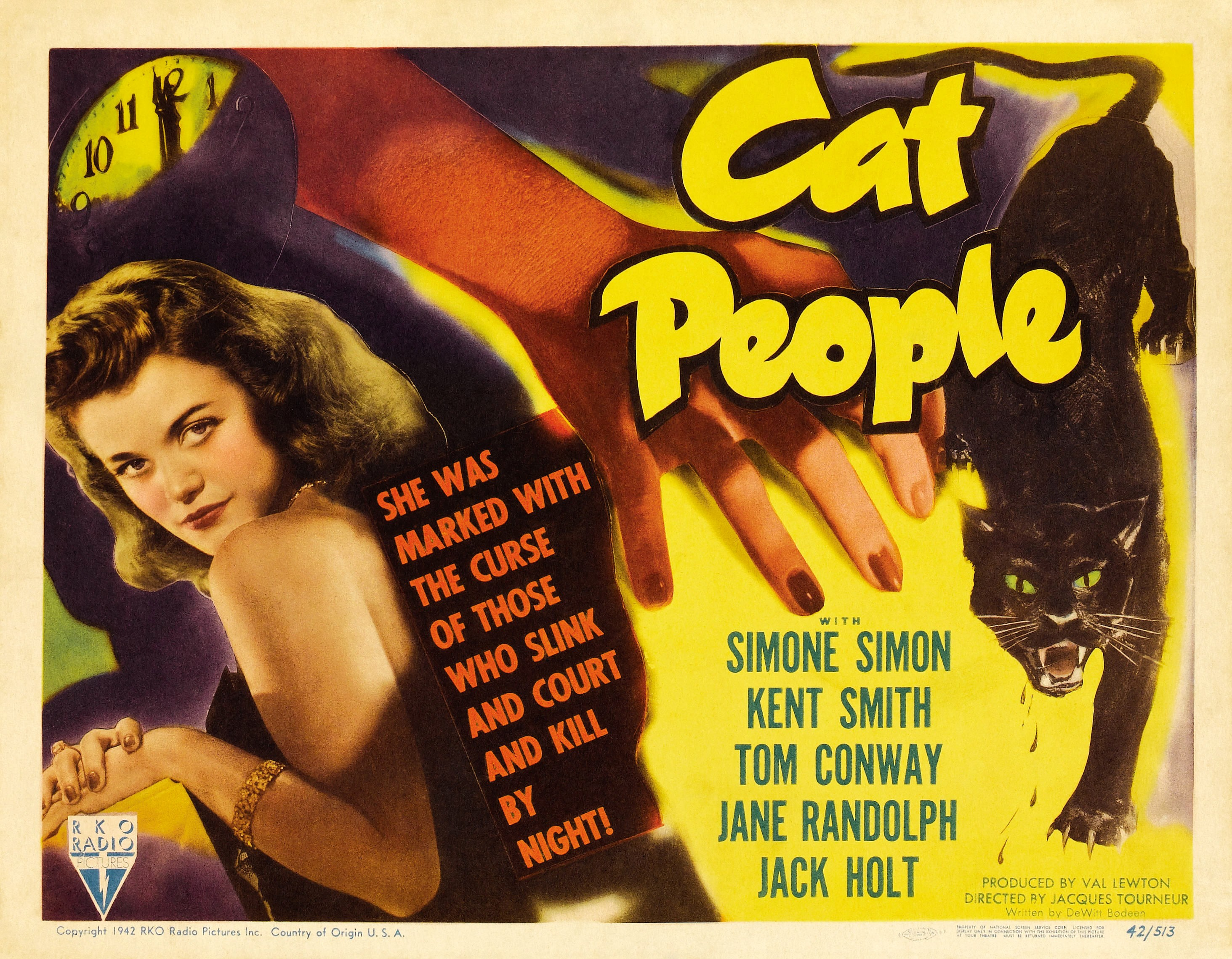 Image result for Cat People (1942)