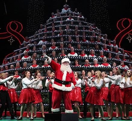 portlands singing christmas tree