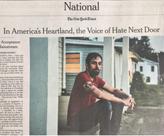 White supremacist featured in NYT profile loses job