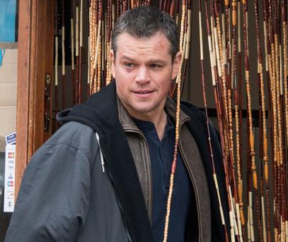 Matt Damon gets well-deserved black eye.