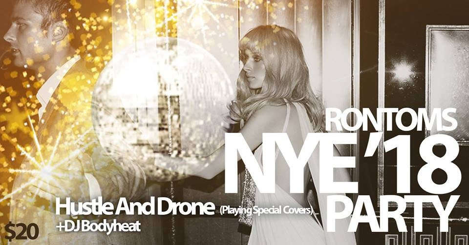 Rontoms New Year\'s Eve Party at Rontoms in Portland, OR on Sun., Dec ...
