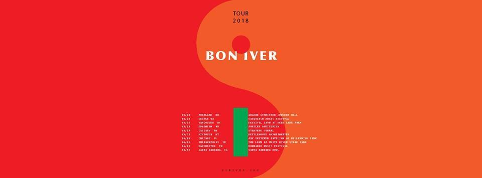Bon Iver At Arlene Schnitzer Concert Hall In Portland OR On Thurs - Arlene schnitzer tickets