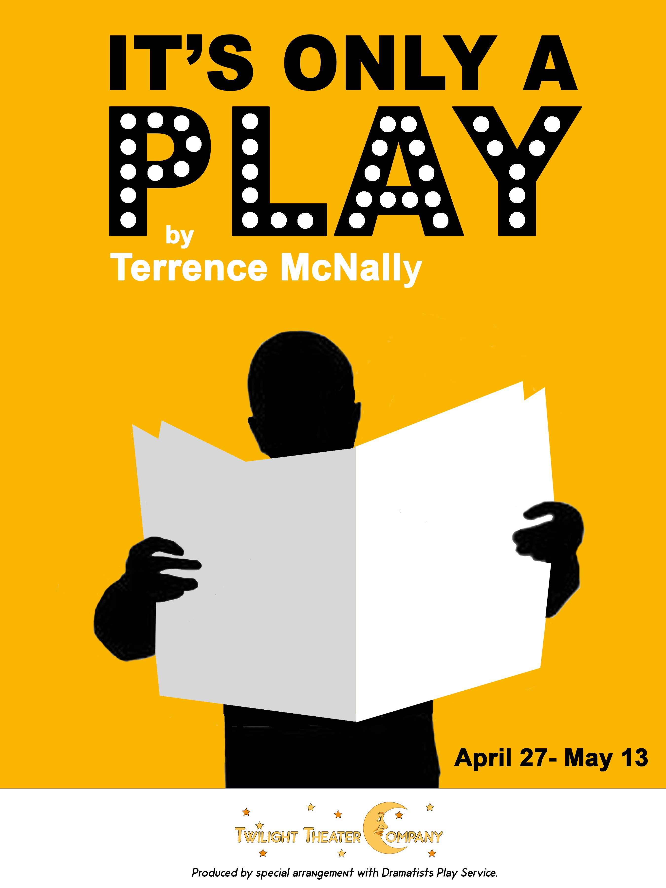 Twilight Theater Company Presents Their Production Of Terence McNallys Satirical Play About A The Golden Egg And Confluence Headcases That