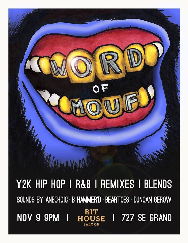 Word Of Mouf Takes You Back To The Y2K Era Hip Hop And RB With An Array Deep Cuts Remixes Blends From Duncan Gerow B Hammerd Anechoic