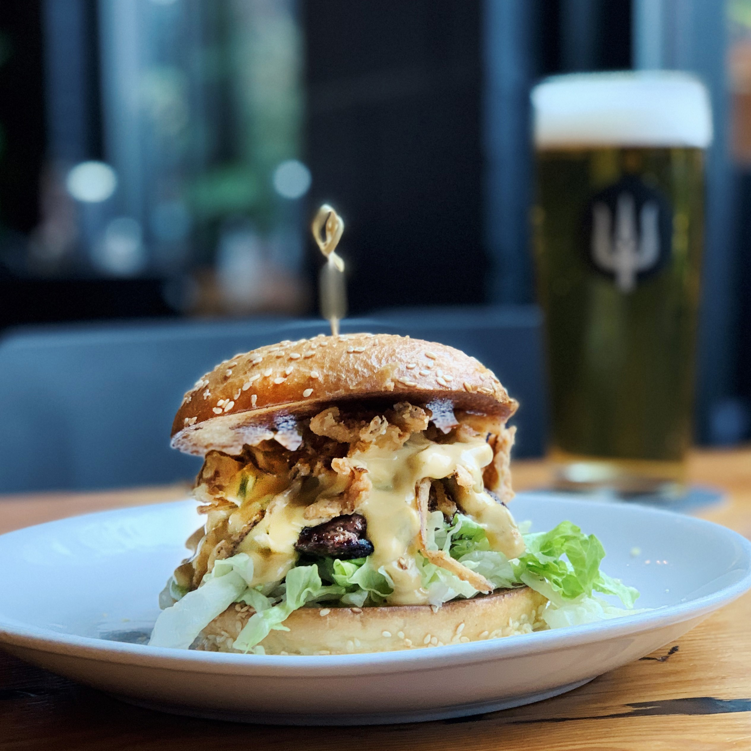 Burger of the Week: Hatch Chile Queso Burger