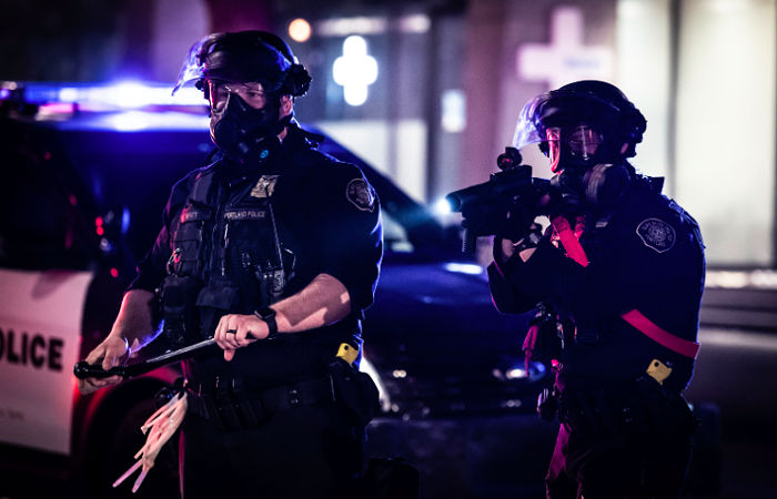 Portland Police say bored youths were the reason for last years Black Lives Matter protests.