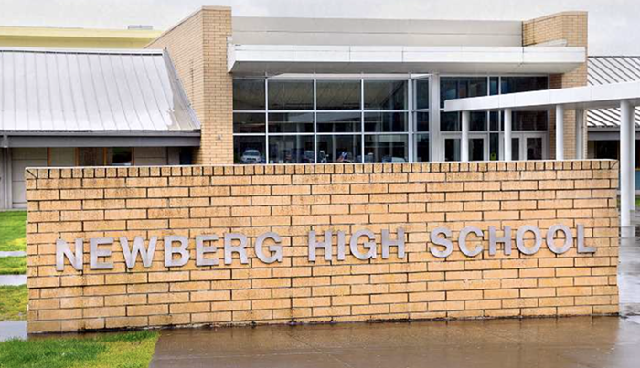 The Newberg School Board approves its racist/homophobic ban on Black Lives Matter and Pride symbols across the district.