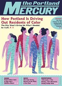 Elegant Cover Of This Issue Of Portland Mercury