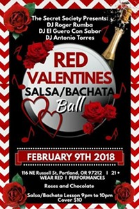 Red Valentineu0027s Salsa U0026 Bachata Ball Music