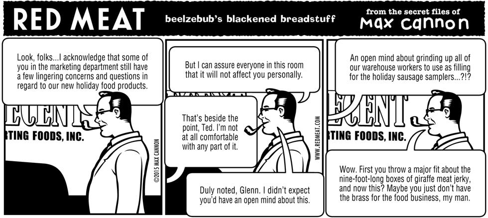 beelzebub's blackened breadstuff