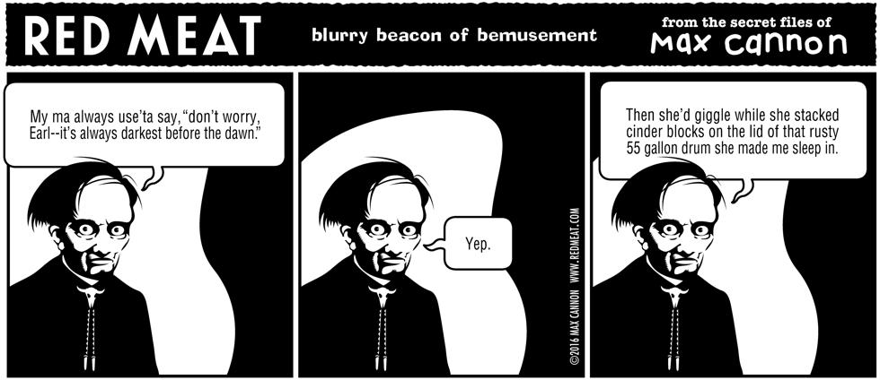 blurry beacon of bemusement