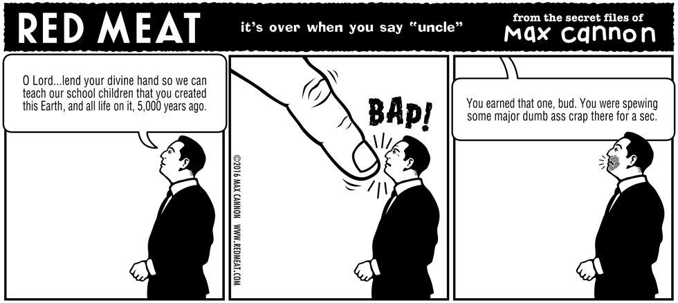 it's over when you say 'uncle'