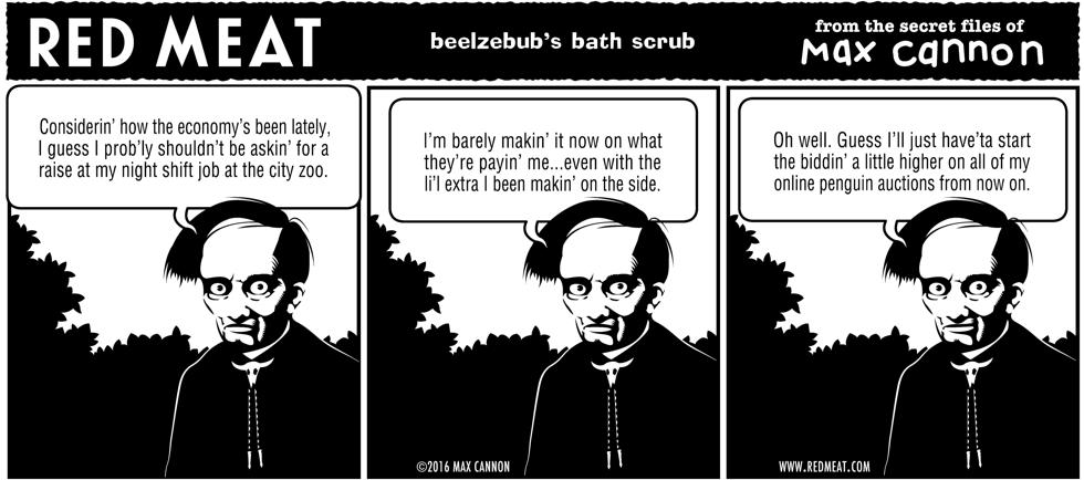 beelzebub's bath scrub